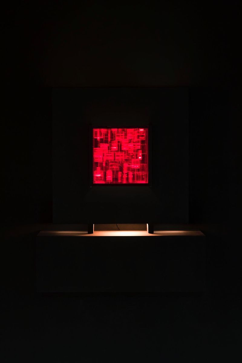 "Julio_Le_Parc_View of the exhibition ""Julio Le Parc : Form into Action"" curated by Estrellita B. Brodksy  at Pérez Art Museum  Miami (USA), 2016_12538_1"