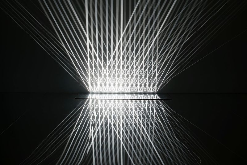 "Julio_Le_Parc_View of the exhibition ""Julio Le Parc : Form into Action"" curated by Estrellita B. Brodksy  at Pérez Art Museum  Miami (USA), 2016_12540_1"