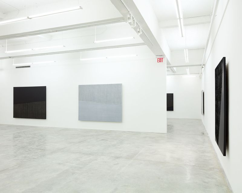 """Seo-Bo_Park_View of the exhibition """"Park Seo-Bo"""" at Tina Kim Gallery New York (USA), 2016_12550_1"""