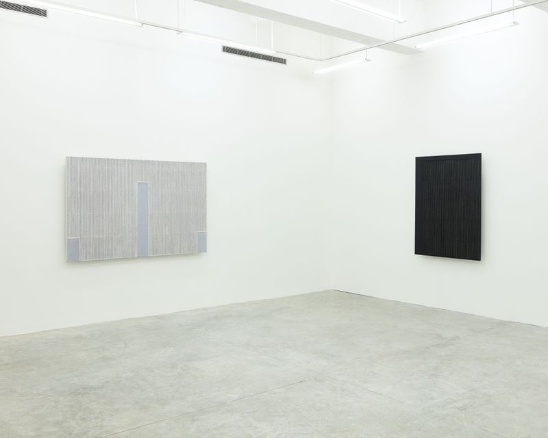 """Seo-Bo_Park_View of the exhibition """"Park Seo-Bo"""" at Tina Kim Gallery New York (USA), 2016_12552_1"""