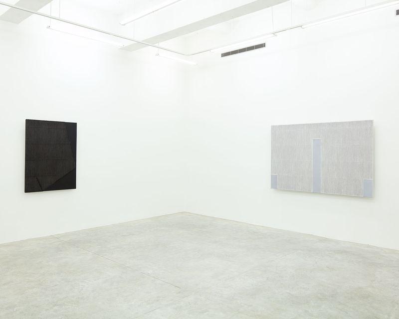 """Seo-Bo_Park_View of the exhibition """"Park Seo-Bo"""" at Tina Kim Gallery New York (USA), 2016_12553_1"""