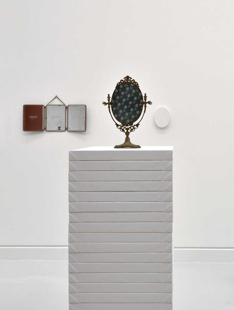 """Claude_Rutault_View of the exhibition """"L'oeil du collectionneur. Neuf collections particulières strasbourgeoises"""" at Musée d'Art Moderne et Contemporain Strasbourg (France), 2016_12631_1"""