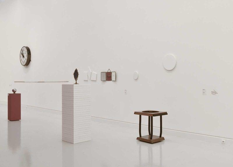 """Claude_Rutault_View of the exhibition """"L'oeil du collectionneur. Neuf collections particulières strasbourgeoises"""" at Musée d'Art Moderne et Contemporain Strasbourg (France), 2016_12632_1"""