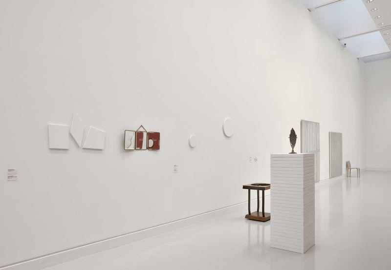 """Claude_Rutault_View of the exhibition """"L'oeil du collectionneur. Neuf collections particulières strasbourgeoises"""" at Musée d'Art Moderne et Contemporain Strasbourg (France), 2016_12633_1"""