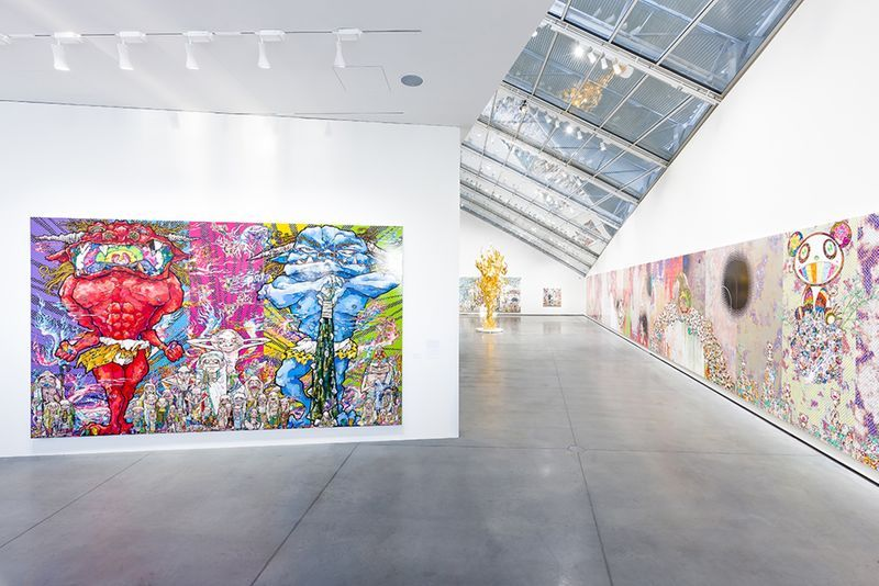 "Takashi_Murakami_View of the group exhibition ""Murakami by Murakami"" curated by Gunnar B. Kvaran and Therese Möllenhoff  at Astrup Fearnley Museet  Oslo (Norway), 2017_12677_1"