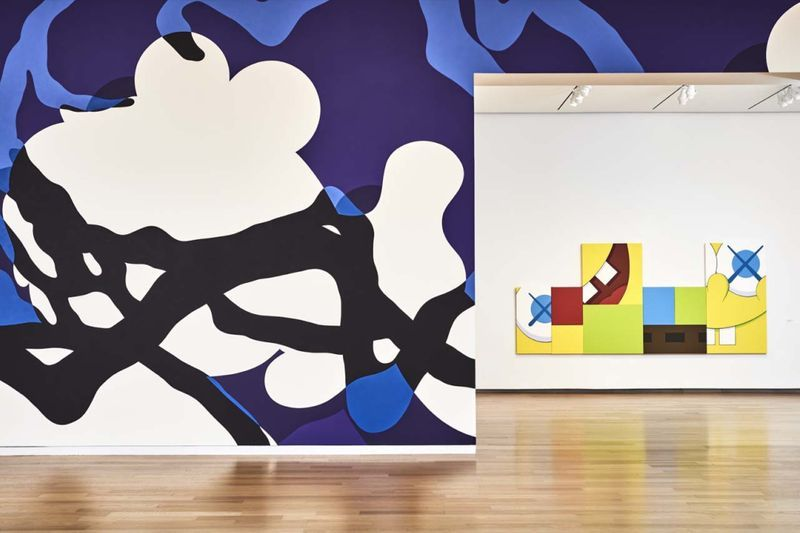 "Kaws_View of the exhibition ""WHERE THE END STARTS"" curated by Andrea Karnes  at Modern Art Museum of Fort Worth  Fort Worth (USA), 2016_12699_1"
