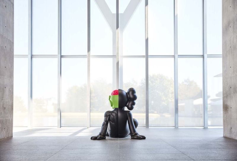 "Kaws_View of the exhibition ""WHERE THE END STARTS"" curated by Andrea Karnes  at Modern Art Museum of Fort Worth  Fort Worth (USA), 2016_12702_1"