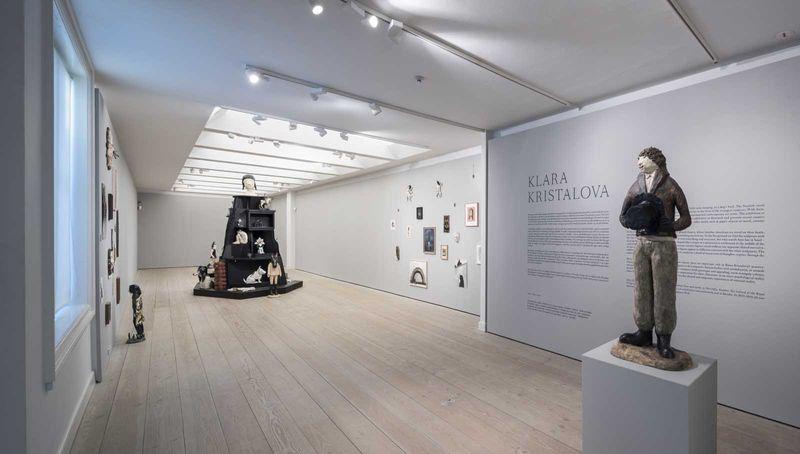 Klara_Kristalova_View of the exhibition  at Kunstforeningen GL Strand  Copenhagen (Denmark), 2017_12910_1