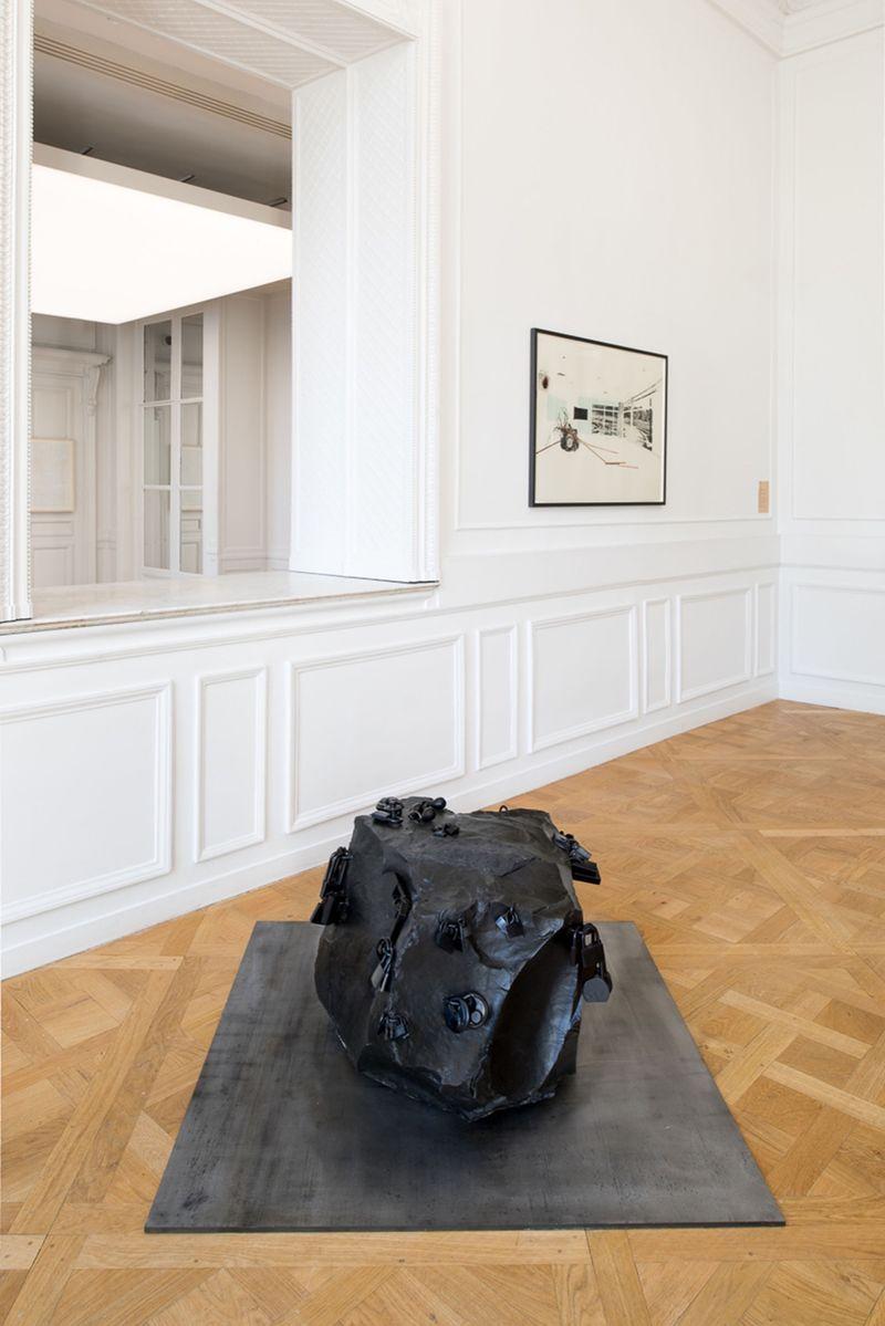 """Tatiana_Trouve_View of the group exhibition """"À pied d'œuvre(s)"""" at Monnaie de Paris Paris (France), 2017_12918_1"""