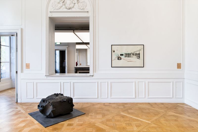 """Tatiana_Trouve_View of the group exhibition """"À pied d'œuvre(s)"""" at Monnaie de Paris Paris (France), 2017_12945_1"""