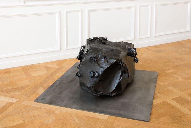 """Tatiana_Trouve_View of the group exhibition """"À pied d'œuvre(s)"""" at Monnaie de Paris Paris (France), 2017_12946_1"""