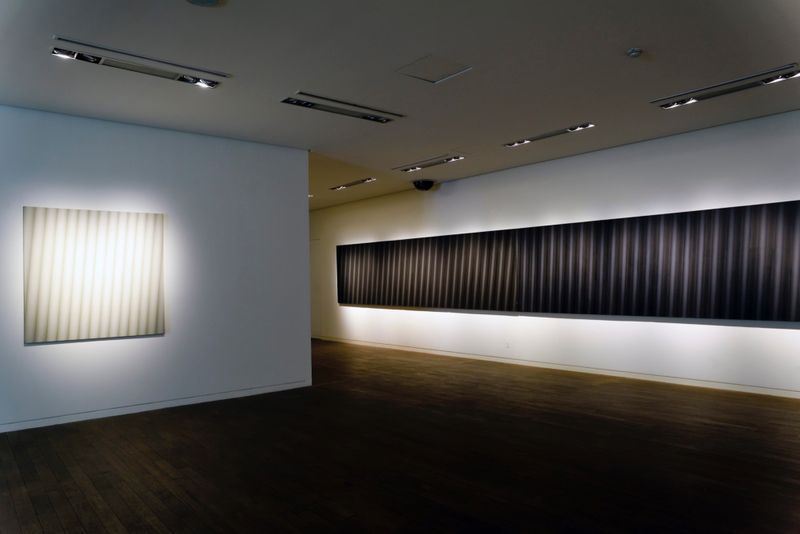 "_View of the exhibition ""Beyond Materiality, Pursuing the Realm of Vacancy - Eye and Mind of Korean Contemporary Art I"" at Gana Art Center  Seoul (South Korea), 2015_12996_1"