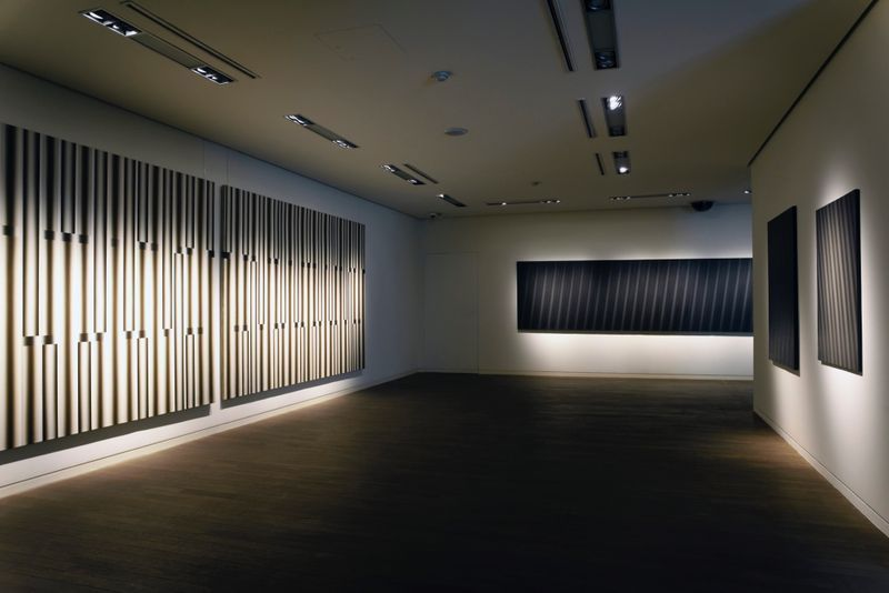 "_View of the exhibition ""Beyond Materiality, Pursuing the Realm of Vacancy - Eye and Mind of Korean Contemporary Art I"" at Gana Art Center  Seoul (South Korea), 2015_13006_1"