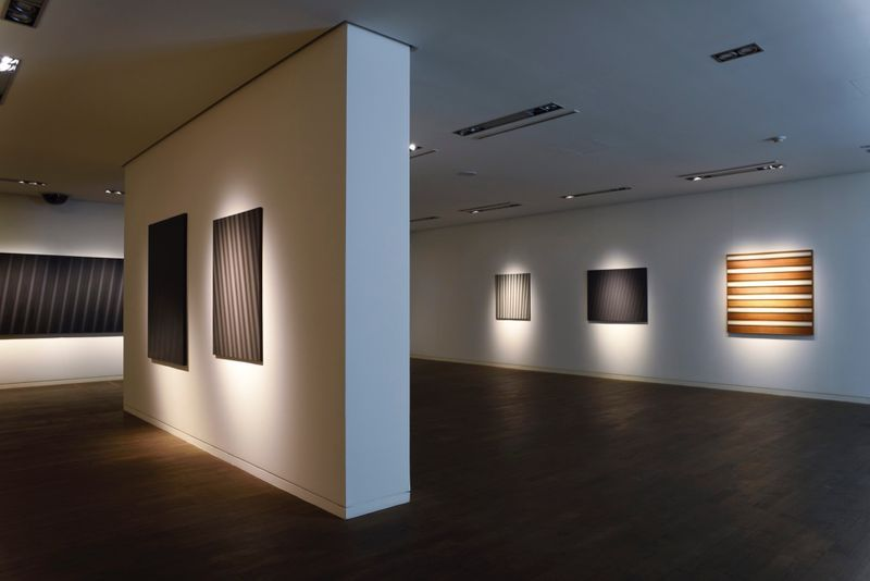 "_View of the exhibition ""Beyond Materiality, Pursuing the Realm of Vacancy - Eye and Mind of Korean Contemporary Art I"" at Gana Art Center  Seoul (South Korea), 2015_13007_1"