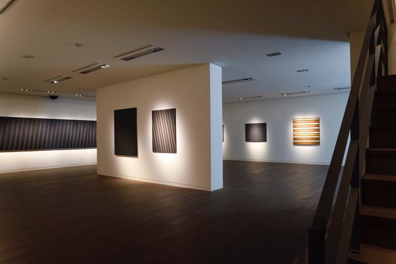 "_View of the exhibition ""Beyond Materiality, Pursuing the Realm of Vacancy - Eye and Mind of Korean Contemporary Art I"" at Gana Art Center  Seoul (South Korea), 2015_13008_1"