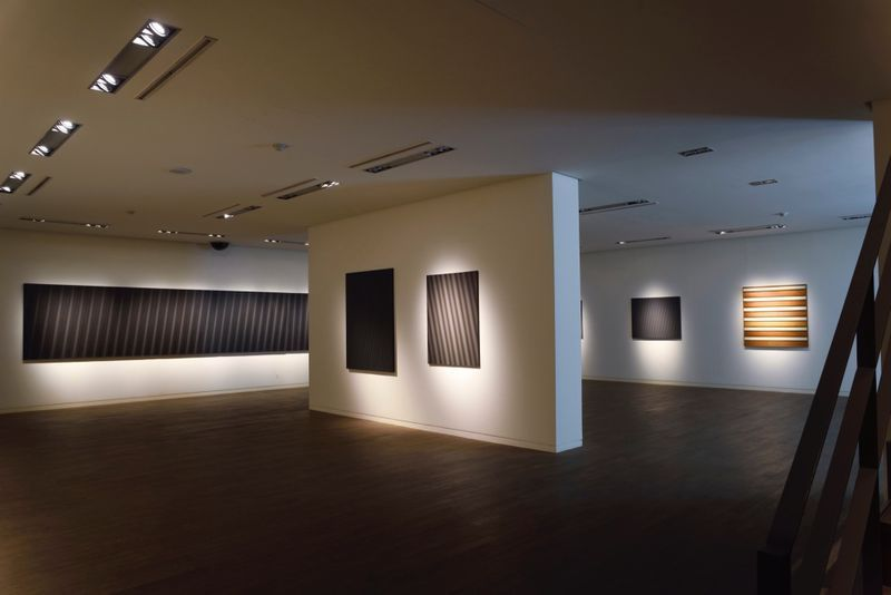 "_View of the exhibition ""Beyond Materiality, Pursuing the Realm of Vacancy - Eye and Mind of Korean Contemporary Art I"" at Gana Art Center  Seoul (South Korea), 2015_13010_1"