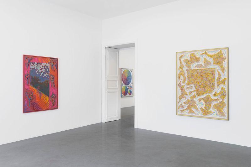 """Zach_Harris_View of the exhibition """"Purple Cloud"""" at 76 Rue de Turenne Paris (France), 2017_13108_1"""