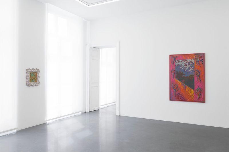 """Zach_Harris_View of the exhibition """"Purple Cloud"""" at 76 Rue de Turenne  Paris (France), 2017_13109_1"""