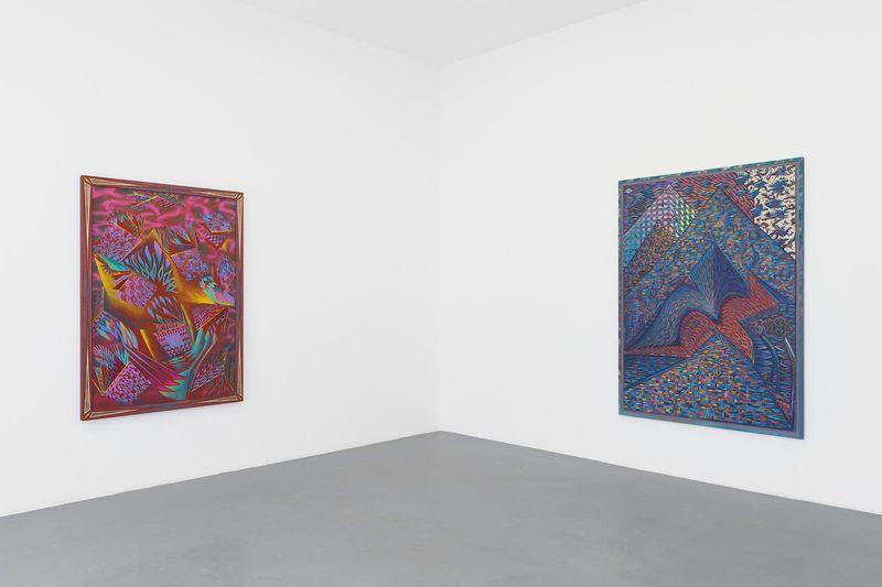 """Zach_Harris_View of the exhibition """"Purple Cloud"""" at 76 Rue de Turenne Paris (France), 2017_13111_1"""
