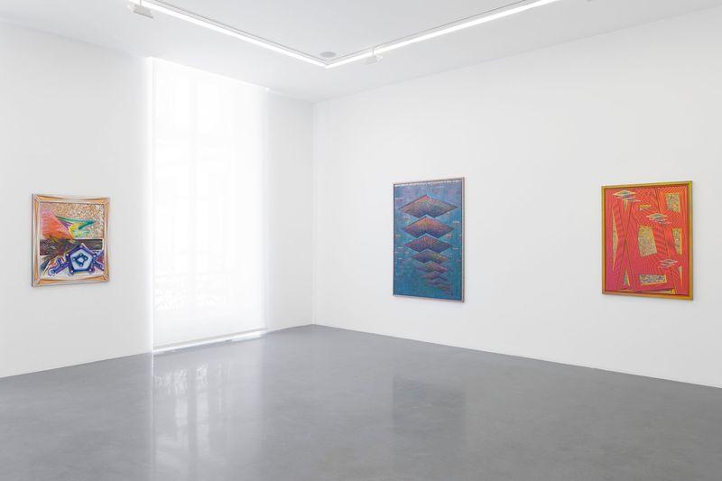 """Zach_Harris_View of the exhibition """"Purple Cloud"""" at 76 Rue de Turenne  Paris (France), 2017_13112_1"""