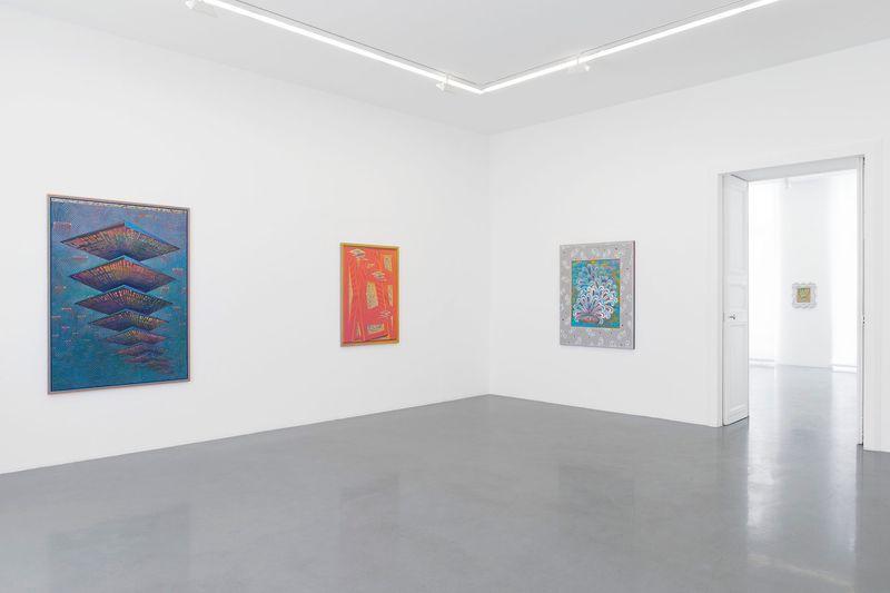 """Zach_Harris_View of the exhibition """"Purple Cloud"""" at 76 Rue de Turenne  Paris (France), 2017_13113_1"""