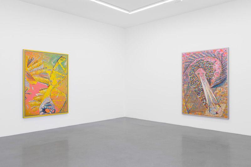 """Zach_Harris_View of the exhibition """"Purple Cloud"""" at 76 Rue de Turenne  Paris (France), 2017_13115_1"""