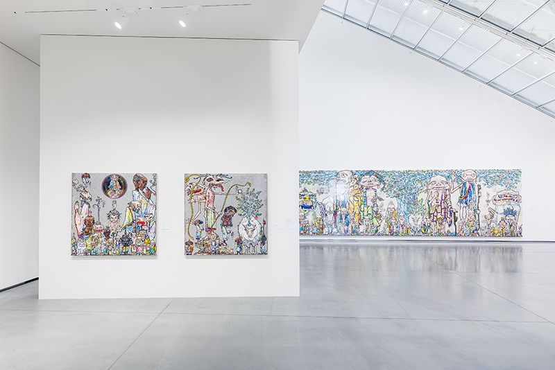 "Takashi_Murakami_View of the group exhibition ""Murakami by Murakami"" curated by Gunnar B. Kvaran and Therese Möllenhoff  at Astrup Fearnley Museet  Oslo (Norway), 2017_13186_1"
