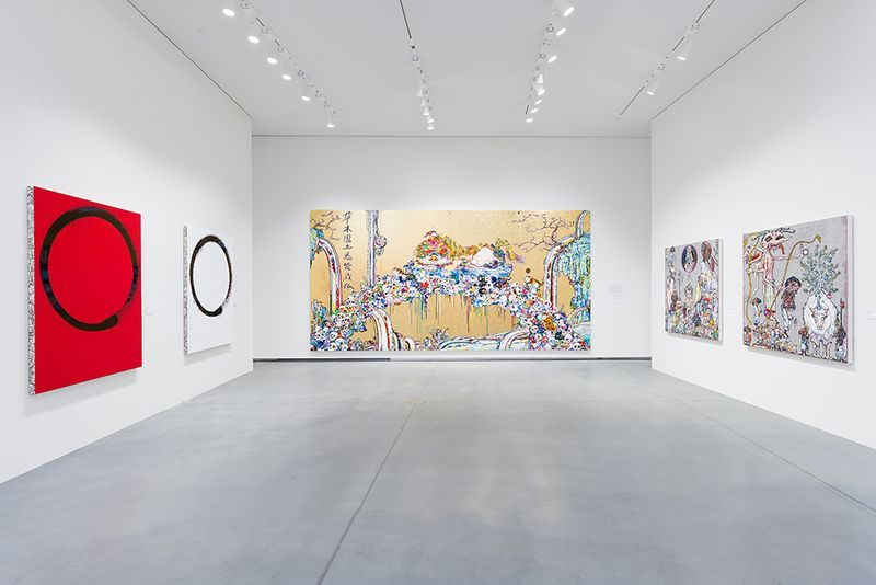"Takashi_Murakami_View of the group exhibition ""Murakami by Murakami"" curated by Gunnar B. Kvaran and Therese Möllenhoff  at Astrup Fearnley Museet  Oslo (Norway), 2017_13187_1"