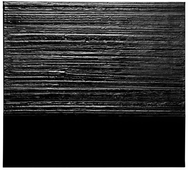 Pierre_Soulages_View of the exhibition  at Piramide Building, 6-6-9 Roppongi, Minato-Ku  Tokyo (Japan), 2017_13232_1