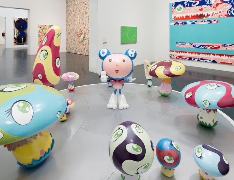 "Takashi_Murakami_""TAKASHI MURAKAMI: THE OCTOPUS EATS ITS OWN LEG"", 2017_14024"