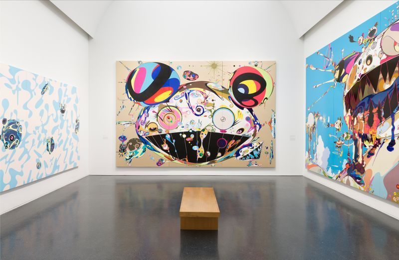 "Takashi_Murakami_""TAKASHI MURAKAMI: THE OCTOPUS EATS ITS OWN LEG""_14025"