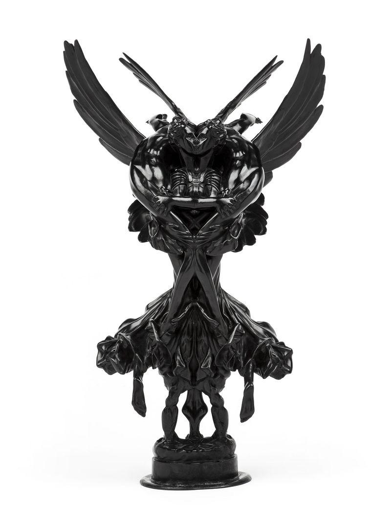 """Gloria Victis Rorschach"", 2012 / Bronze patiné / Patinated bronze75 x 45 x 26 cm / 29 1/2 x 17 11/16 x 10 1/4 in / 1/3 + 2AP"