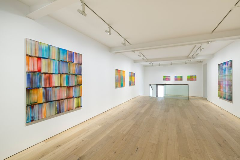 "Bernard_Frize_View of the exhibition ""Tongue and groove"" at SEOUL GALLERY Seoul (South Korea), 2017_14197"