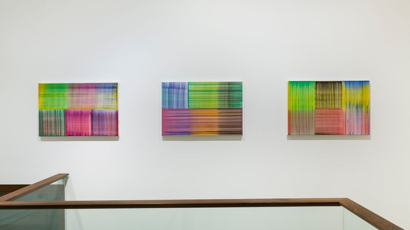"Bernard_Frize_View of the exhibition ""Tongue and groove"" at SEOUL GALLERY Seoul (South Korea), 2017_14199"