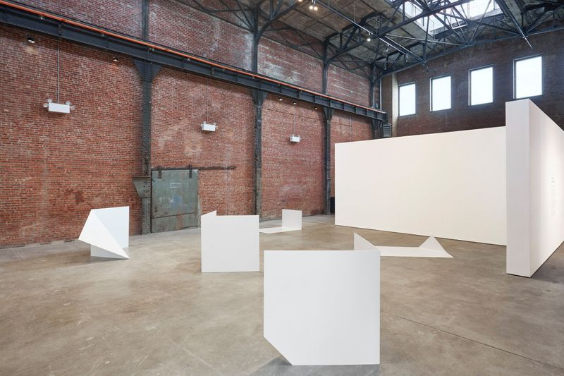 "Exhibition View: ""Collective Stance"" at the Sculpture Center, New York, 2016"