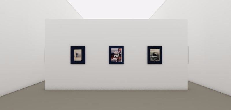 "Exhibition View, ""Photo- Poetics: An Anthology"", at the Guggenheim Museum, New York, 2014"