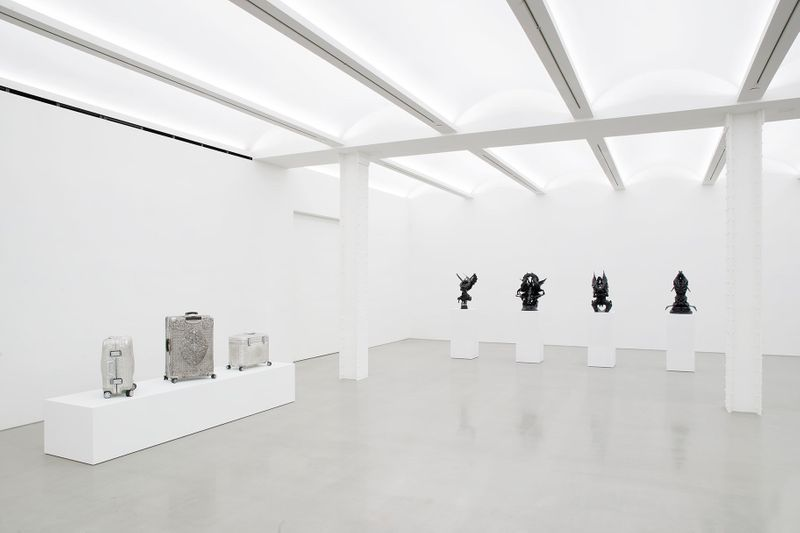 Wim_Delvoye_View of the exhibition  at NYC Gallery  New York (USA), 2017_14277