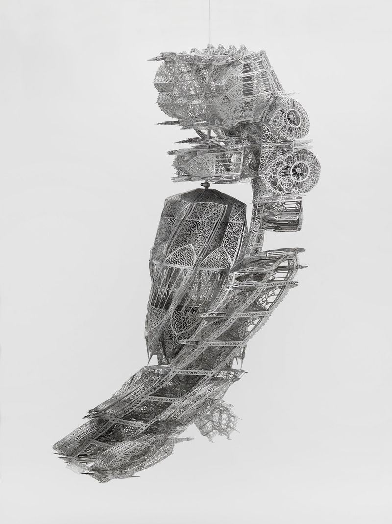 Wim_Delvoye_View of the exhibition  at NYC Gallery  New York (USA), 2017_14281