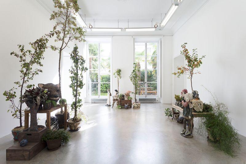 "Klara_Kristalova_View of the exhibition ""Camouflage"" at Perrotin Paris (France), 2017_14289"