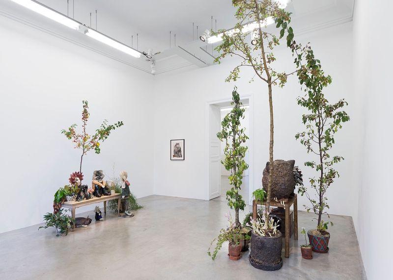 "Klara_Kristalova_View of the exhibition ""Camouflage"" at Perrotin Paris (France), 2017_14297"