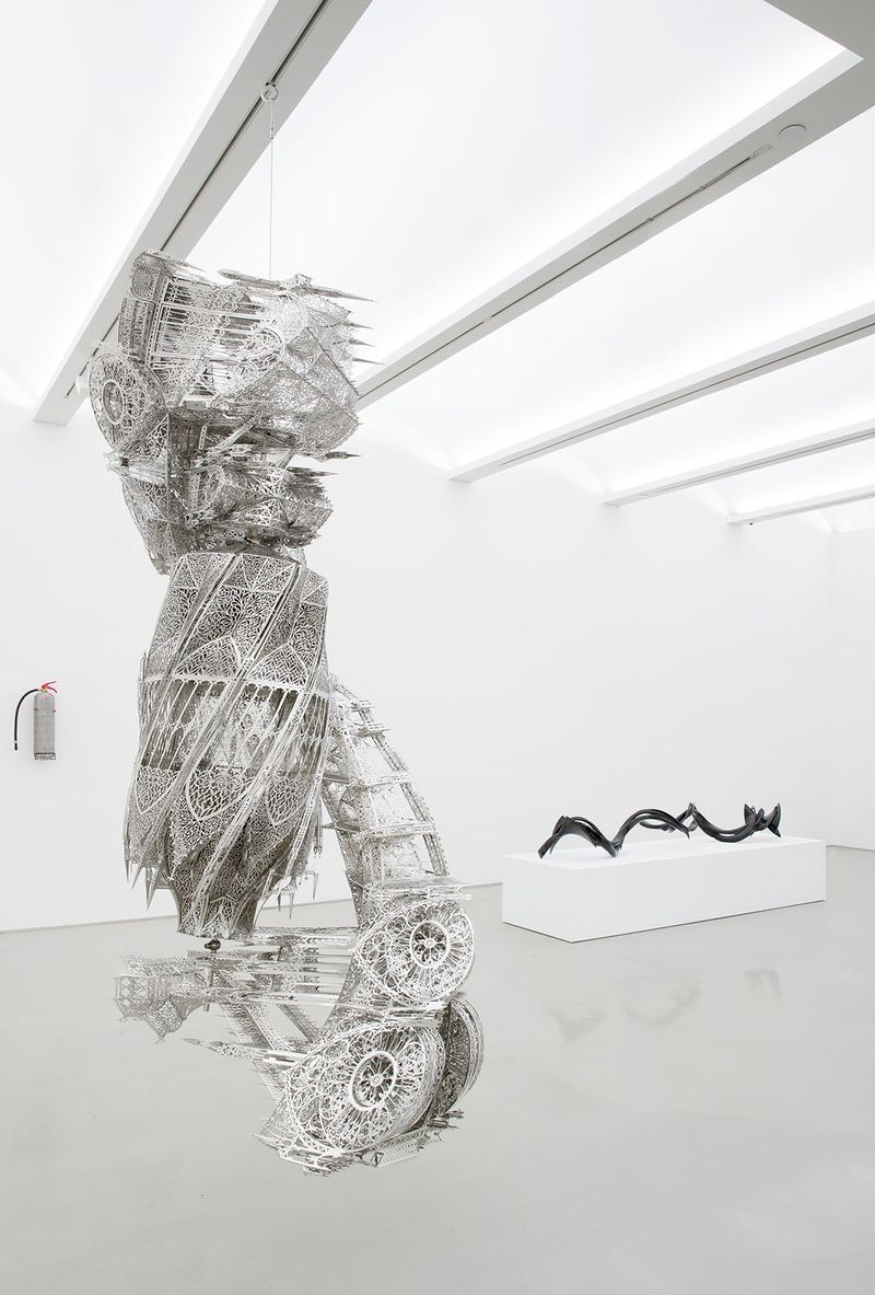 Wim_Delvoye_View of the exhibition  at NYC Gallery  New York (USA), 2017_14330