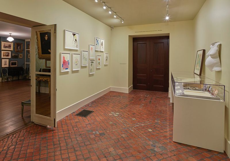 """Bharti_Kher_View of the exhibition """"Bharti Kher : Sketchbooks and Diaries"""" at Isabella Stewart Gardner Museum  BOSTON (USA), 2017_14344"""