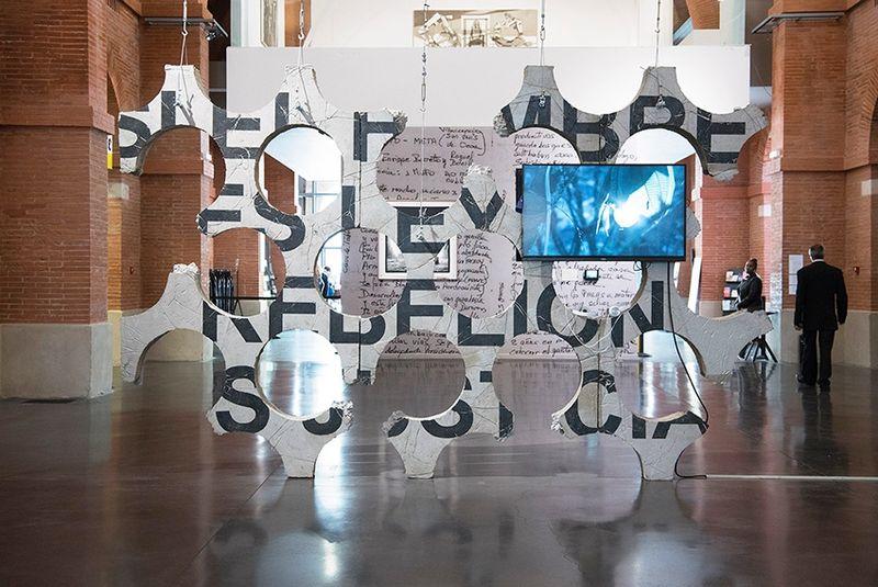 """Ivan_Argote_""""Medellin, une histoire colombienne, de Fernando Botero à Ivan Argote"""" curated by Nydia Gutierrez, Annabelle Ténèze, Valentin Rodriguez  at Les abattoirs  Toulouse (France), 2017_14383"""
