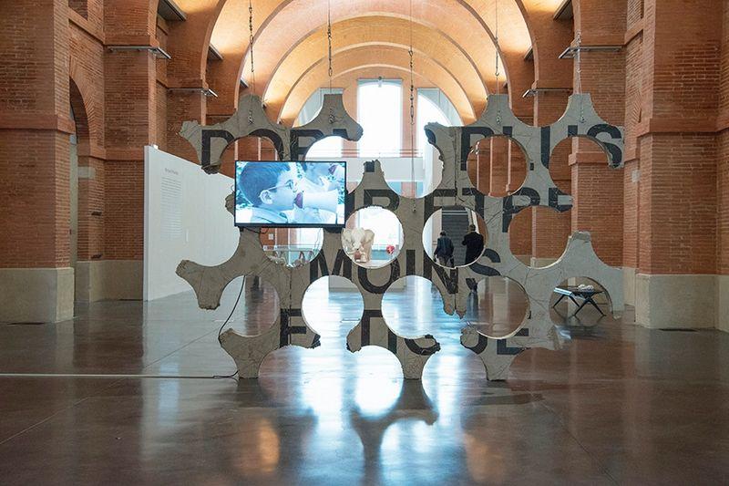 """Ivan_Argote_""""Medellin, une histoire colombienne, de Fernando Botero à Ivan Argote"""" curated by Nydia Gutierrez, Annabelle Ténèze, Valentin Rodriguez  at Les abattoirs  Toulouse (France), 2017_14385"""