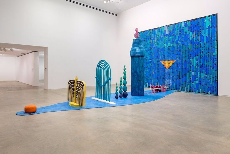 "Matthew_Ronay_View of the exhibition ""Matthew Ronay"" at BLAFFER ART MUSEUM, University of Houston  Houston (USA), 2016_14468"