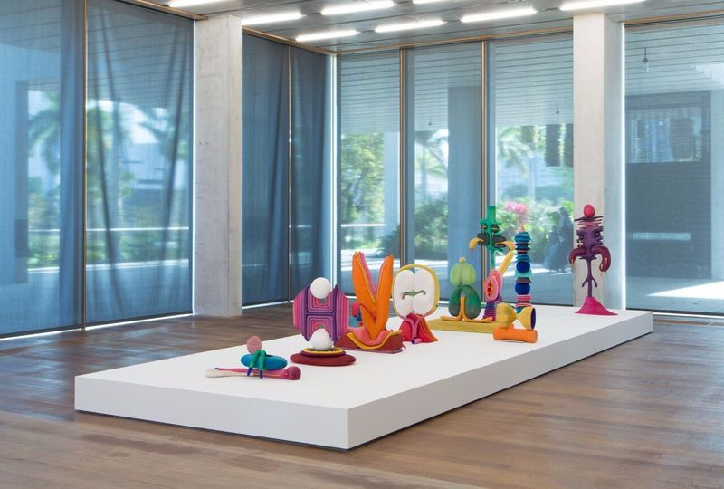 """Matthew_Ronay_View of the exhibition """"When Two Are In One"""" at Pérez Art Museum Miami , 2016_14474"""
