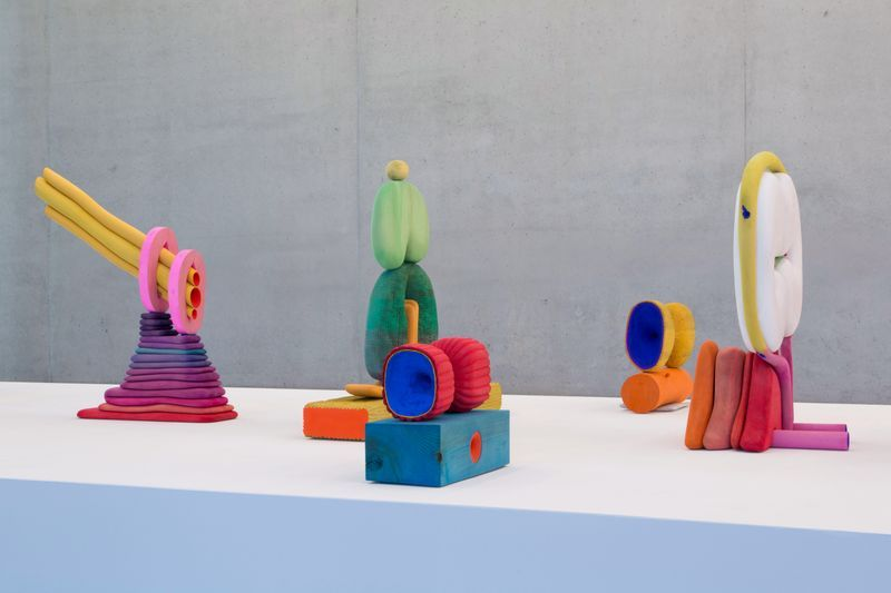 """Matthew_Ronay_View of the exhibition """"When Two Are In One"""" at Pérez Art Museum Miami , 2016_14475"""