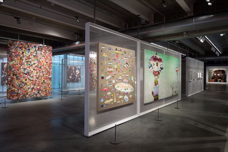 "Takashi_Murakami_View of the exhibition ""Under the radiation falls"" curated by Ekaterina Inozemtseva  at GARAGE MUSEUM OF CONTEMPORARY ART  Moscow (Russia), 2017_14486"