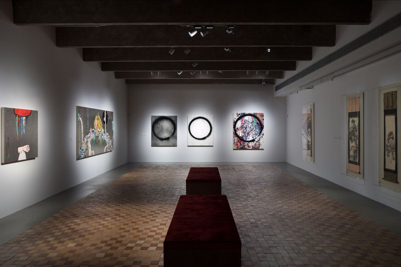 """Takashi_Murakami_View of the exhibition """"Under the radiation falls"""" curated by Ekaterina Inozemtseva  at GARAGE MUSEUM OF CONTEMPORARY ART Moscow (Russia), 2017_14489"""