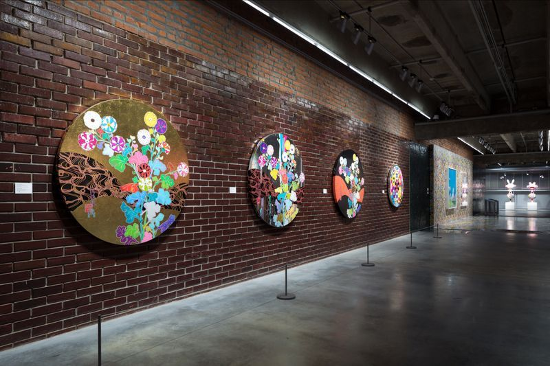 "Takashi_Murakami_View of the exhibition ""Under the radiation falls"" curated by Ekaterina Inozemtseva  at GARAGE MUSEUM OF CONTEMPORARY ART  Moscow (Russia), 2017_14490"